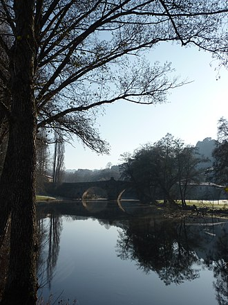 Allariz - The Arnoia river