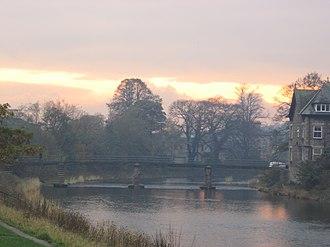 River Kent - The River Kent in Kendal