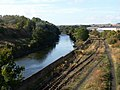 River Leven and railway line - geograph.org.uk - 58407.jpg