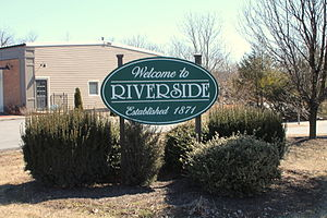 Riverside, Pennsylvania welcome sign.JPG