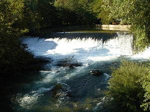 Rječina - Waterfall in Martinovo Selo