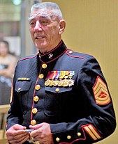 R Lee Ermey During The United States Marine Corps Birthday Ball