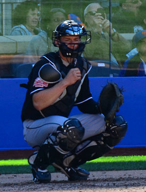 Rob Brantly - Brantly with the Miami Marlins in 2012