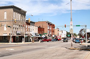 Rochester, Indiana - Rochester business district