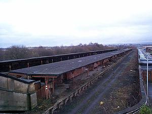 ROF Chorley - Chorley RoF in 2001 prior to demolition