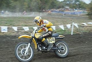 Roger De Coster Belgian motorcycle racer