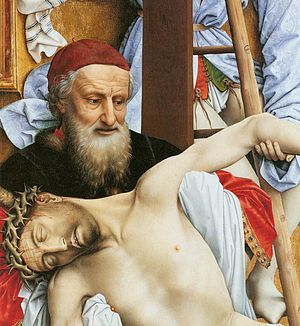 Lorne Campbell:Nicodemus/Dirk de Vos:Joseph of Arimathea