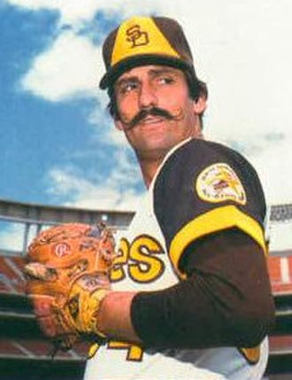 Rollie Fingers - Fingers as a Padre in 1978