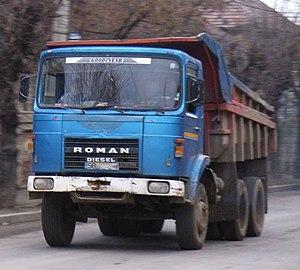 Roman (vehicle manufacturer) - ROMAN truck