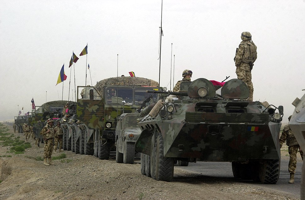 Romanian military convoy in Afghanistan.JPEG