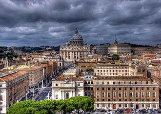 Culture of Italy - Via della Conciliazione in Rome.