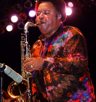 Ron Holloway - Holloway in 2007 With Derek Trucks and Susan Tedeschi's Soul Stew Revival