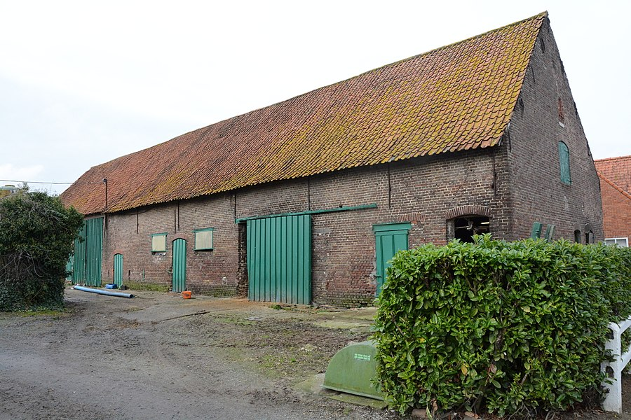 "Hoevegebouwen, ""Hof te Ronsele"" of ""Molenhoeve"", Ronselestraat 7, Ronsele"