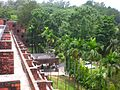 Roof View over Shahjalal Hall at CU 05.JPG