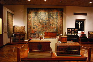 Franz Mayer Museum - One of the display areas in the museum