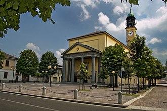 Rosate - Church of St. Stephen in Rosate.