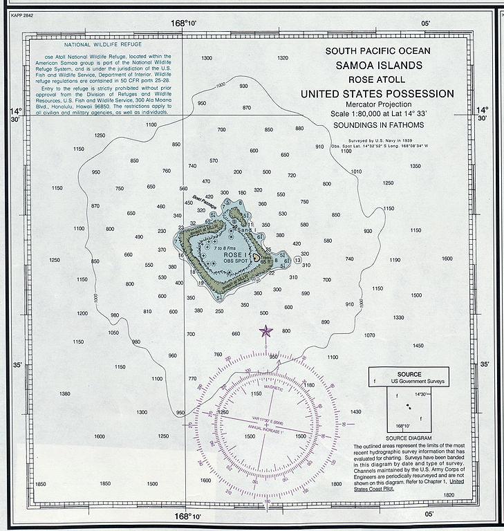 Hundreds Chart To 120: Rose Atoll NOAA chart.jpg - Wikimedia Commons,Chart