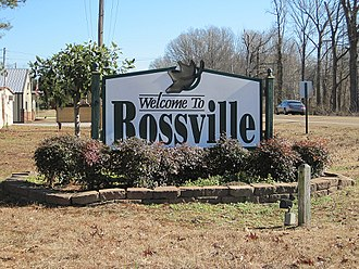 Rossville, Tennessee - Image: Rossville TN 01 2012 001