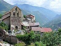 Roure - Eglise et village dominant la vallée de la Tinée -182.jpg