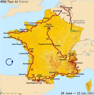 1962 Tour de France cycling race