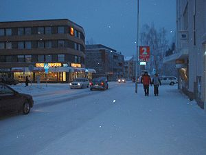 Rovaniemi - Rovaniemi in January 2004