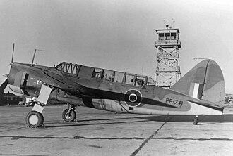 Brewster SB2A Buccaneer - Royal Air Force Bermuda I
