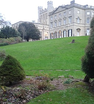Royal Fort House - A view to the House from Royal Fort Gardens