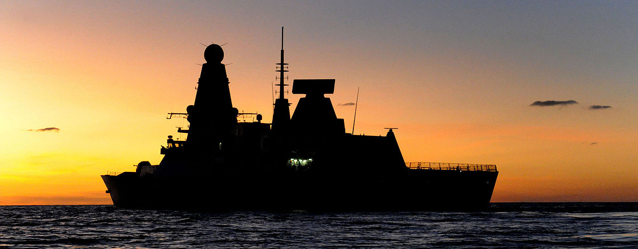 Royal Navy Warship Runs Aground Channel Islands Fast Patrol