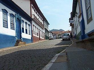 Sabará - Historical buildings from the colonial period in Sabará.
