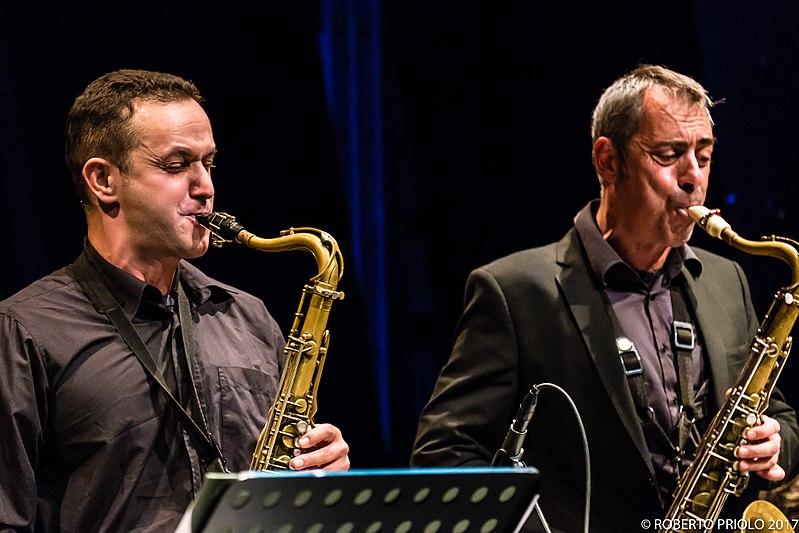 File:Rudi Manzoli, Tullio Ricci, Monday Orchestra.jpg