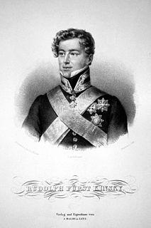 Rudolf, 6th Prince Kinsky of Wchinitz and Tettau Prince Kinsky of Wchinitz and Tettau