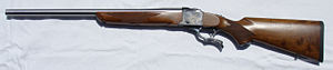 Single-shot - Ruger No. 1 single-shot rifle with custom .243 barrel