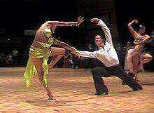 Rumba danse de salon wikip dia for Rumba danse de salon