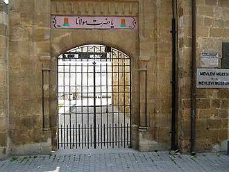 Mevlevi Tekke Museum - Entrance of the museum on Girne Avenue