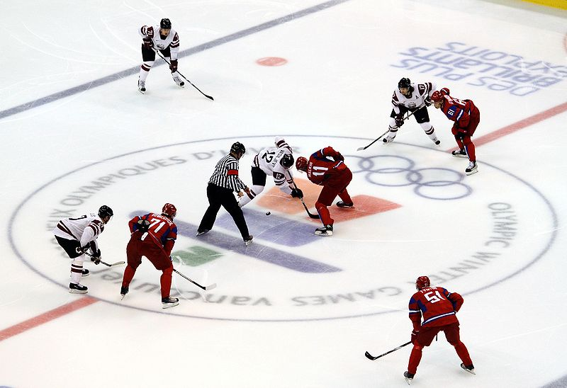 Russia vs Latvia (2010 Olympics) 08