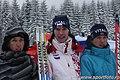 Russian women team Tomilova-Kravchenko-Vlasova (Ski-EOC 2010).jpg
