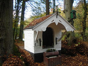 John of Ruusbroec - Small chapel in the forest at Groenendaal near the monastery where Ruysbroeck contemplated