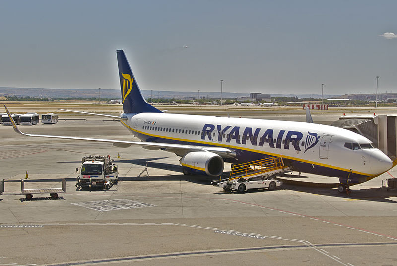 Количество пассажиров Ryanair в этом году сократилось на 99 процентов