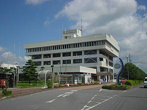 Ryūgasaki, Ibaraki - Ryūgasaki city hall