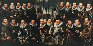 Civic Guardsmen from a company of the Crossbow Civic Guard