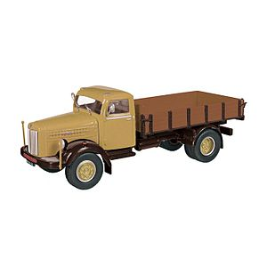 NZG Models - An older Scania L60 stake bed truck - not all offerings are of new vehicles.
