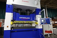 Hydraulic press - Wikipedia