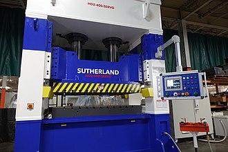 Hydraulic press - 440 ton COMPRESSION SERVO HYDRAULIC COMPRESSION MOLDING PRESS