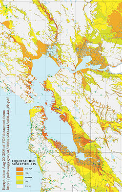 Map of Hayward Fault Zone - The Full Wiki
