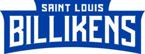 1969 Saint Louis Billikens men's soccer team - Image: SLU Billikens wordmark
