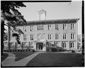 SOUTH FRONT - Iowa Wesleyan College, Old Main Building, Broad Street, Mount Pleasant, Henry County, IA HABS IOWA,44-MOPLE,2-2.tif