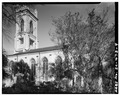 SOUTH SIDE - Unitarian Church, 6 Archdale Street, Charleston, Charleston County, SC HABS SC,10-CHAR,197-4.tif