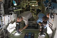 STS-129 Rendezvous Pitch Maneuver Station Photographers