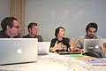 Sage working with WINTR team, 2014-09-18.jpg