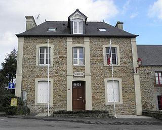 Saint-Georges-de-Gréhaigne Commune in Brittany, France
